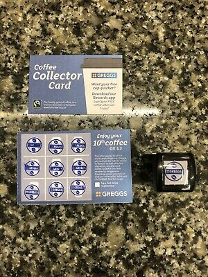 40 Greggs Collector Cards exp 31/12/20