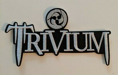 Trivium Heavy Metal Embroidered Iron-on Band Patch