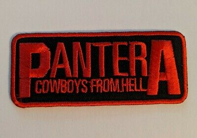Pantera Embroidered Iron-on Thrash Metal Band Patch