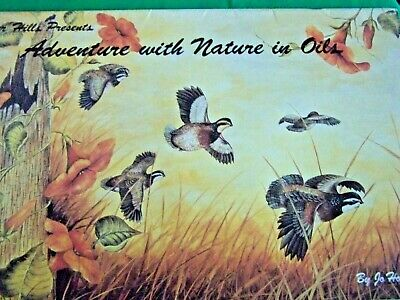 Cedar Hills Presents Adventure With Nature In Oils Jo Hollingsworth 1987 Paint