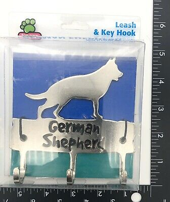 German Shepherd Dog Leash And Key Hook Holder