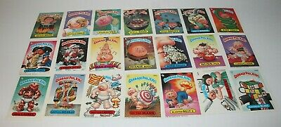Garbage Pail Kids Series 7 Cards Lot of 21 Topps Chewing Gum Inc 1987 Excellent