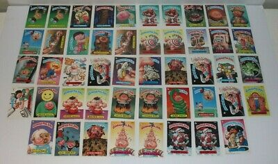 Garbage Pail Kids Series 7 Cards Lot of 48 Topps Chewing Gum Inc 1987 Excellent