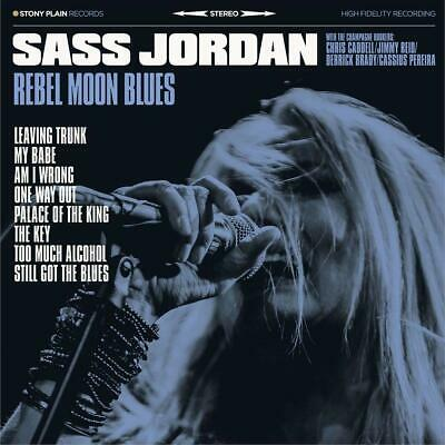 SASS JORDAN  Rebel Moon Blues  ( Neues Album 2020 )  CD  NEU & OVP