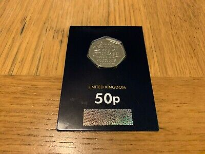 2020 UK WITHDRAWAL FROM EU BREXIT BU MINT SEALED CERTIFIED 50p COIN FREE POSTAGE