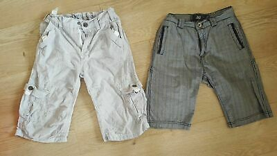 Jasper Conran Grey & iDO Design Blue Boys Shorts Age 10 Years