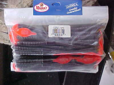 """Mann/'s NEW Big Fish 9/"""" Jelly Worms the #1 Selling Worm BLB9-20 for Bass//Pike"""