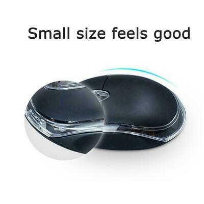 WIRED USB OPTICAL MOUSE For PC LAPTOP COMPUTER SCROLL BLACK - WHEEL G6V8