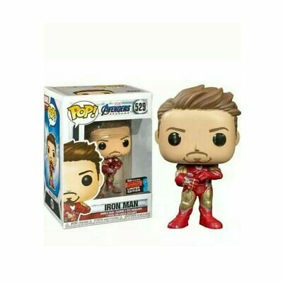 Funko  iron man pop the avengers end game stark exclusive marvel toy marvels