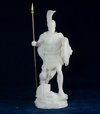 Ares Mars God of War son Zeus and Hera Alabaster statue - Greek God of Olympus