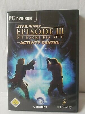Star Wars - Episode III  3 Die Rache der Sith - Activity Centre (PC)     NEU