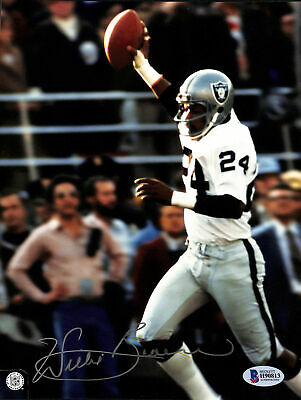 Raiders Willie Brown Authentic Signed 8x10 Photo Autographed BAS