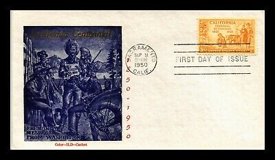 Dr Jim Stamps Us California Statehood Centennial First Day Cover Scott 997