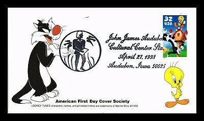 Dr Jim Stamps Us Tweety Sylvester Looney Tunes First Day Cover