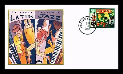 Dr Jim Stamps Us Latin Jazz Music Ace 141 First Day Cover Scott 4349