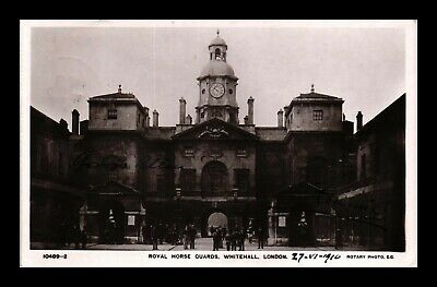 Dr Jim Stamps Royal Horse Guards Whitehall London United Kingdom Rppc Postcard