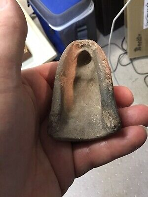 Ancient Roman Clay Mold Half Female Goddess Antiquity Relic No Reserve
