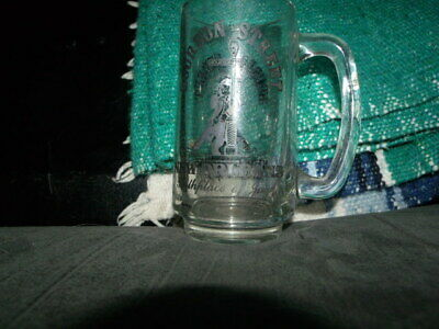 Bourbon Street New Orleans ~Clear Glass Mug With Handle