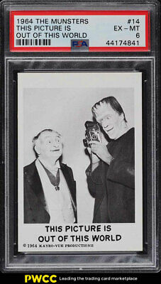 1964 The Munsters This Picture Is Out Of This World #14 PSA 6 EXMT (PWCC)