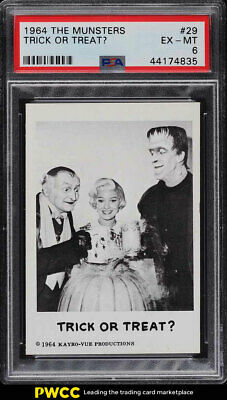 1964 The Munsters Trick or Treat? #29 PSA 6 EXMT (PWCC)