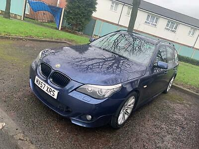 BMW 520D M Sport Touring Automatic FSH mot 2key heated seats excellent condition