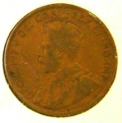 1915 Canada Large 1 Cent Canadian Coin Canada Canadian George V (our #CC-58-2)
