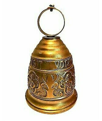 Vintage Brass Bell Knocker Monastery Church Qui Me Tangit Vocem Meam Audit