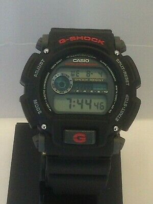 Brand New! Casio DW9052-1V G-Shock 200 Meter Classic Black Resin Strap Watch
