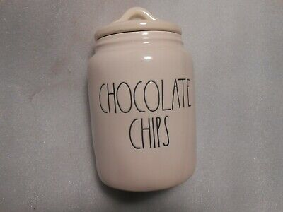 New Rae Dunn Magenta Chocolate Chips Canister