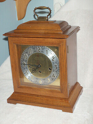 Seth Thomas Mantel Clock 8 Day Key Wound Westminster Chime Beautiful!