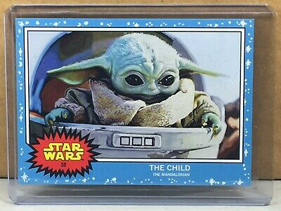 2019 Topps Star Wars Living Set #58 The Child Baby Yoda The Mandalorian