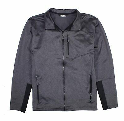 The North Face Mens Jacket Gray Size Large L Fleece Full Zip Canyonland $148 455