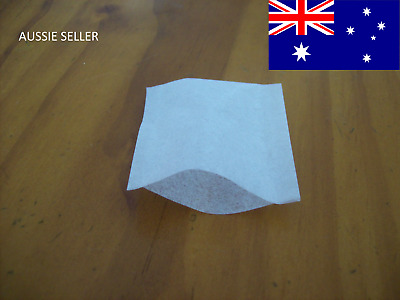 50/100/250/500 Empty Tea Bags Sealable Empty Teabags Heat Seal Herbal Teabags