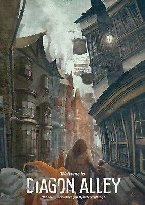 Harry Potter A4 art print, photo, picture, bedroom, living room, nursery, gift