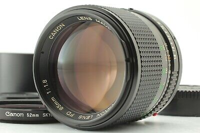 [Excellent+++++] Canon New FD 85mm f/1.8 NFD MF Portrait Lens From Japan 0201A