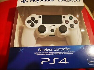 BRAND NEW PlayStation Dualshock 4 Wireless Controller - Glacier White (PS4)
