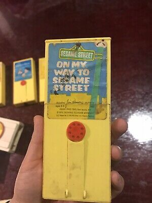 Fisher And price 1976 'on My Way To Seasame street' Cartridge