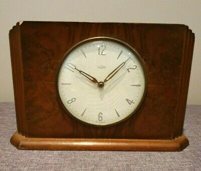 Vintage 1950's Insurance Company Time Savings Clock (British Florins Mechanism)
