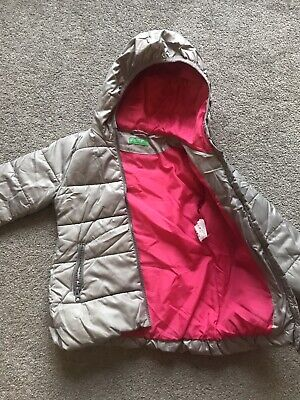 Girls Hooded Jacket United Colors Of Benetton Age 4