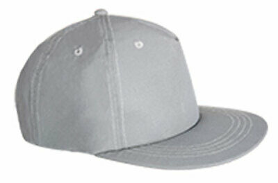 sUw - Mens Highly Reflective Baseball Cap - Silver - One Size
