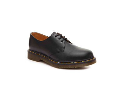 Men's Shoes Dr. Martens 1461 3 Eye Leather Oxfords BLACK SMOOTH_Authentic