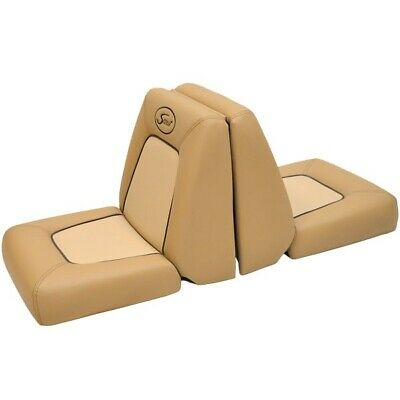 """SCOUT BOAT SEAT CUSHION TAN BROWN 26 1//2/"""" X 8/"""" MARINE BOAT"""