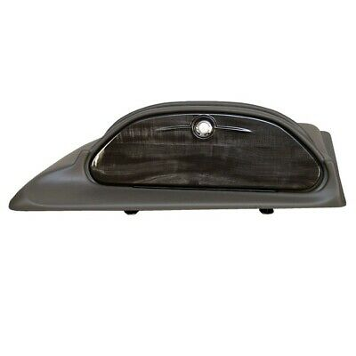 Skiers Choice 103345 Charcoal / Woodgrain Boat Glove Compartment Hatch Shroud
