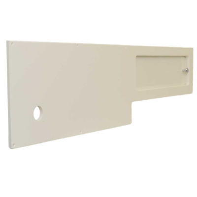 Scout Boat Console Interior Storage | 345 XSF Off White Starboard