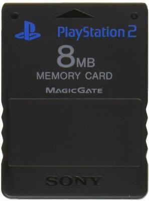 Official Sony Playstation 2 PS2 Memory Card - FREE MCBOOT 1.966 - Free P&P (10)