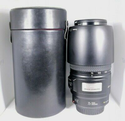 【AS IS】 Canon EF 75-300mm F4-5.6 IS USM AF Zoom Lens for EOS EF Mount From Japan