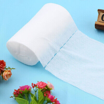 100 Sheets/Roll Baby Flushable Biodegradable Cloth Nappy Diaper Bamboo Liners