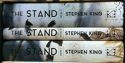 THE STAND Stephen King 3-volume set PS Publishing Out of Print Brand New