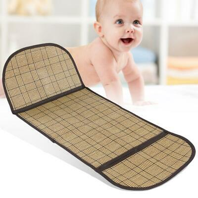 Baby Summer Stroller Pram Cool Straw Mat Cover Healthy Cushion Seat Pad CA