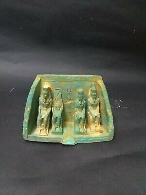 Antique Statue Rare Ancient Egyptian Pharaonic Statues of Abu Simbel Temple